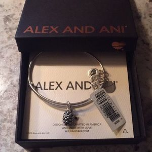 NWT Alex and Ani Pine Cone